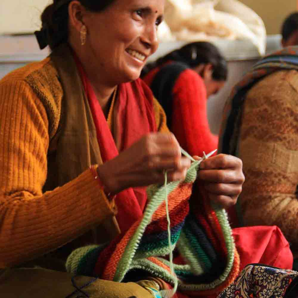 Artisans hand knitting products | Qalara